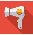 Modern flat design concept icon electric Hair vector image