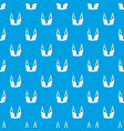 brassiere women pattern seamless blue vector image vector image