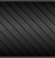 Dark striped background vector image vector image