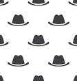 hat seamless pattern vector image vector image