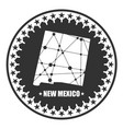 new mexico state map vector image vector image