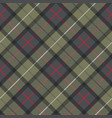 pastel color plaid classic seamless pattern vector image vector image
