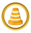 Road repair sign icon vector image vector image