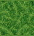 seamless pine pattern vector image