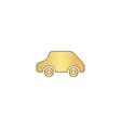 Toy Car computer symbol vector image