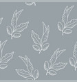 wild flowers pattern vector image vector image