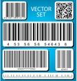 barcode set vector image vector image