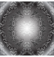 black white vintage wallpaper vector image vector image