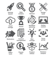 Business management icons Pack 28 vector image vector image