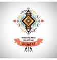 colorful decorative element on native vector image vector image