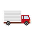 delivery or cargo truck icon image vector image
