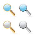 Icons for lens vector image vector image