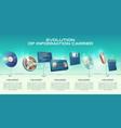 information carriers technologies progress vector image