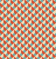 Mosaic seamless pattern in retro style vector image vector image