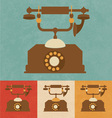 Old Phone vector image vector image