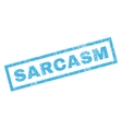 Sarcasm Rubber Stamp vector image vector image