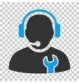 Service Operator Icon vector image vector image