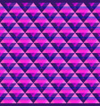 violet triangle seamless pattern vector image vector image