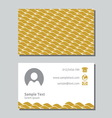 Businessman card2 resize vector image vector image
