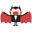 Cartoon vampire vector image vector image