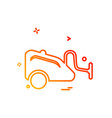 cleaner icon design vector image