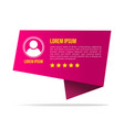 Creative testimonials template with different