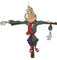 funny scarecrow Cartoon vector image vector image