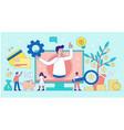 virtual business assistant concept