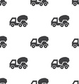 concrete mixer seamless pattern vector image vector image