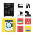 design of laundry and clean symbol vector image