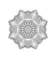 manadala ornament vector image vector image
