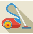 Modern flat design concept icon vacuum cleaner vector image vector image