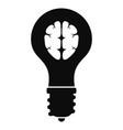 new brand idea icon simple style vector image