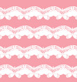 seamless background butterfly pattern vector image vector image