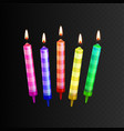 stock realistic 3d birthday vector image
