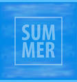 summer background sea triangle background vector image vector image
