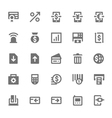 Finance Icons 12 vector image