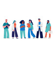 group medical professionals - thank you doctors vector image vector image