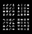 House system icons vector image vector image