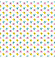 cute seamless butterfly background pattern vector image