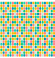 Mosaic seamless patterns in retro style vector image vector image