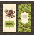Tea vintage banners vector image vector image