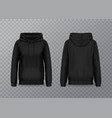 women hoody or 3d pullover hoodie for woman vector image vector image