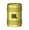 barrel of oiloil single icon in cartoon style vector image