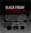 black friday sale background design with space for vector image vector image
