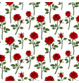 floral english victorian seamless background vector image vector image