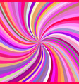 multicolored abstract swirl background vector image vector image