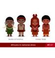 mursi ethiopia himba tribe men and women in vector image vector image