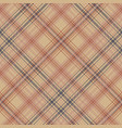 old style check plaid pixel seamless pattern vector image vector image