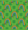 patrick day seamless pattern vector image